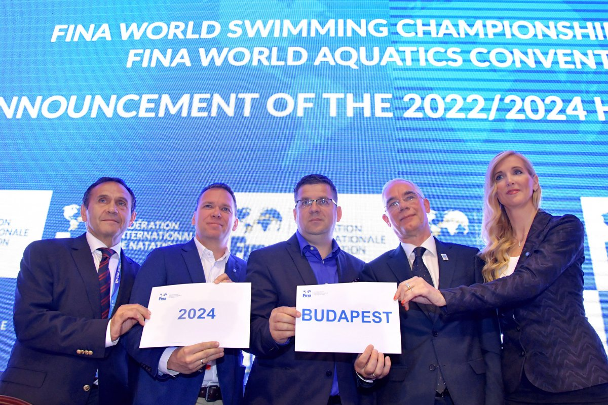 Hungary To Host 2024 World Short Course Swimming Championships