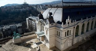 Reconstructed Royal Stables and Guardhouse Completed at Buda Castle